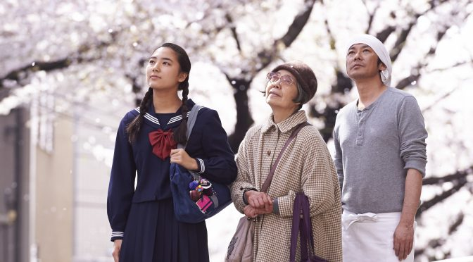 ARCHIVES – DIMANCHE 11 JUIN 2017 –  «LES DÉLICES DE TOKYO»DE NAOMI KAWASE (2016 – 1H53MIN)
